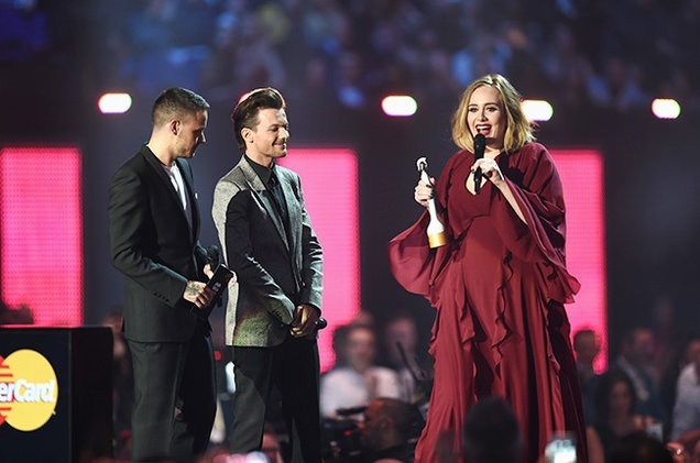 BRIT Awards 2016: Adele la duy nhat va cuoi cung hinh anh 1
