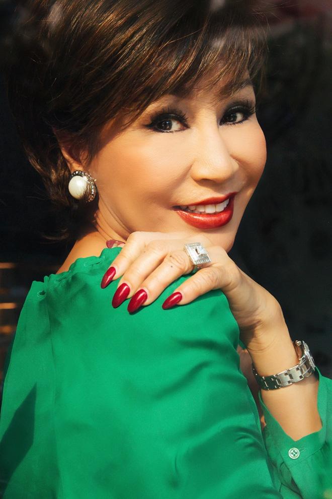 Khanh Ha lan dau hat cung Quang Le o Ha Noi hinh anh 1