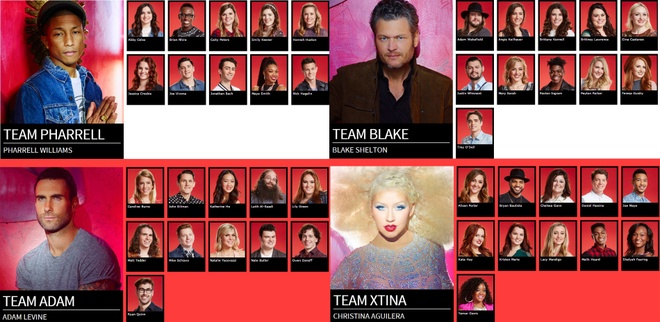 The Voice: Christina Aguilera do giong cung thi sinh hinh anh 3