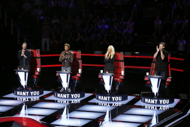 The Voice: Christina Aguilera do giong cung thi sinh hinh anh 1
