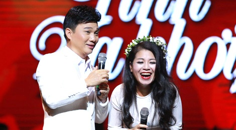 Quang Linh gay an tuong trong show cua Anh Tho hinh anh