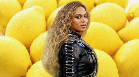 Ly nuoc chanh chua gat cua Beyonce hinh anh
