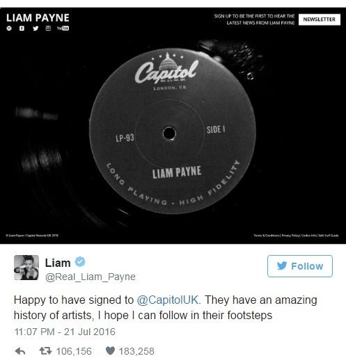 Liam Payne tach ra solo, dau cham het cua One Direction hinh anh 2