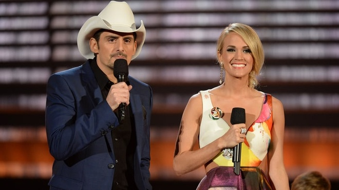 Carrie Underwood, Brad Paisley thang kien dao nhac hinh anh 1