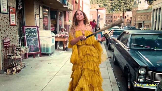 Beyonce quay pha trong MV mung sinh nhat tuoi 35 hinh anh 2
