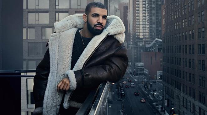 Drake 'vuot mat' vua nhac pop Michael Jackson hinh anh