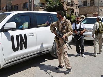 Syria lan dau tham gia cong uoc cam vu khi hoa hoc hinh anh 1