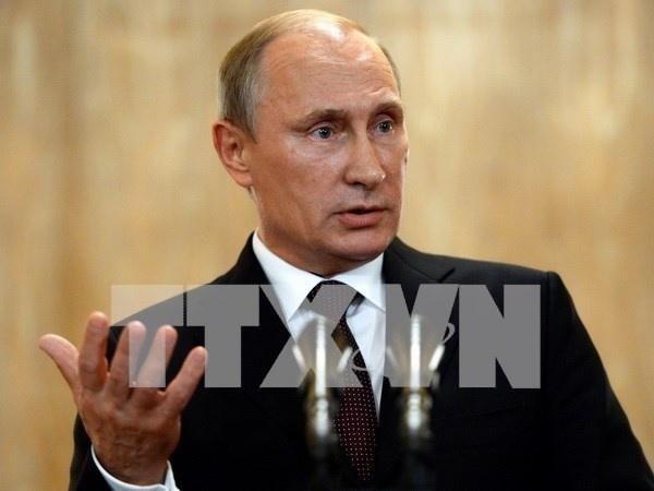 Tong thong Putin: Khong ai co the ham doa nuoc Nga hinh anh 1 Tổng thống Nga Putin.