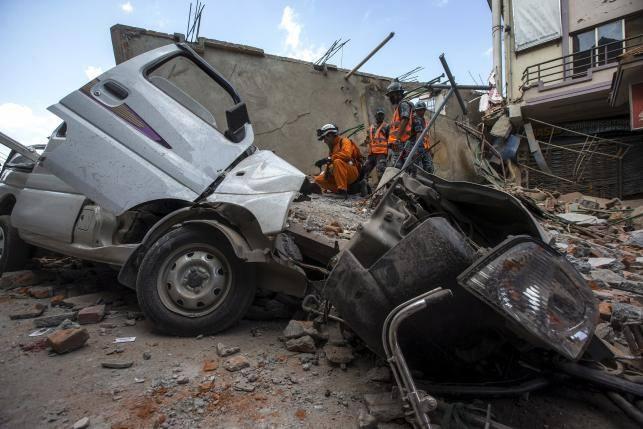 68 nguoi chet sau dong dat 7,3 do Richter o Nepal hinh anh 16