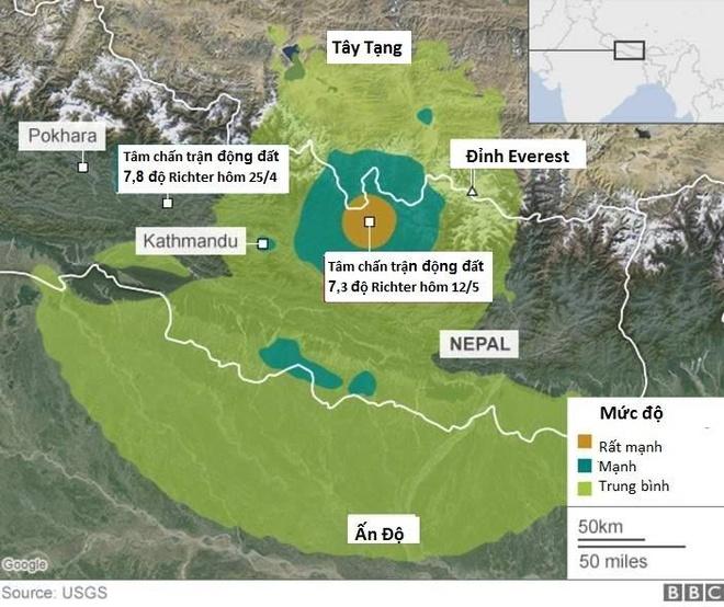 68 nguoi chet sau dong dat 7,3 do Richter o Nepal hinh anh 8