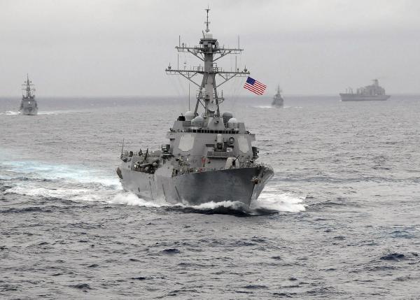 Trung Quoc trieu tap dai su My ve viec dieu tau tuan tra hinh anh 1 Tàu khu trục USS Lassen của Mỹ. Ảnh: Reuters