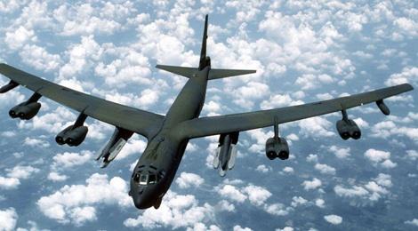 My dieu B-52 bay gan dao Trung Quoc boi lap hinh anh