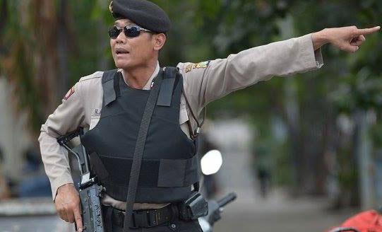 Bat 3 nghi pham trong cac vu tan cong o Indonesia hinh anh