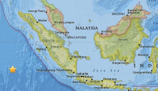 Dong dat 7,8 do Richter rung chuyen Indonesia hinh anh 1