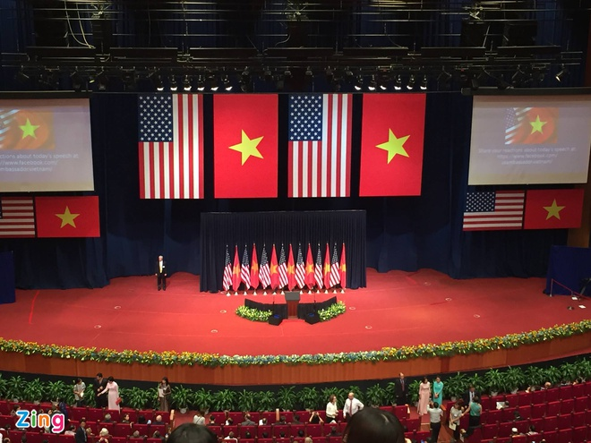 Tuong thuat Obama phat bieu ve quan he Viet - My hinh anh 1