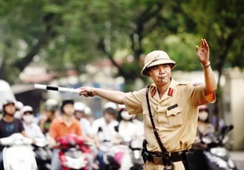 Cong an Ha Noi huy dong tong luc chong un tac hinh anh