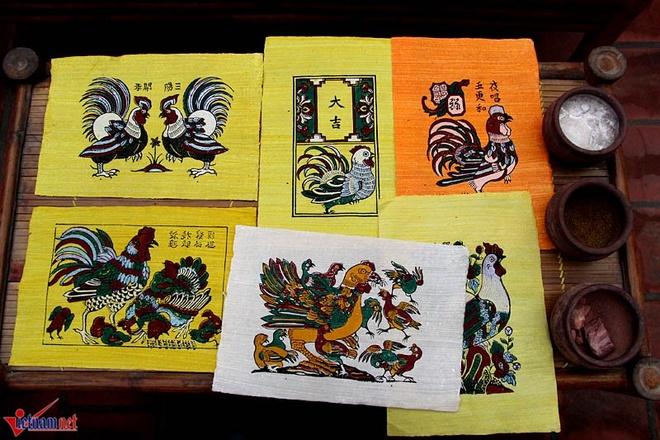 Giai ma thu vi 6 loai ga trong tranh Dong Ho hinh anh 1