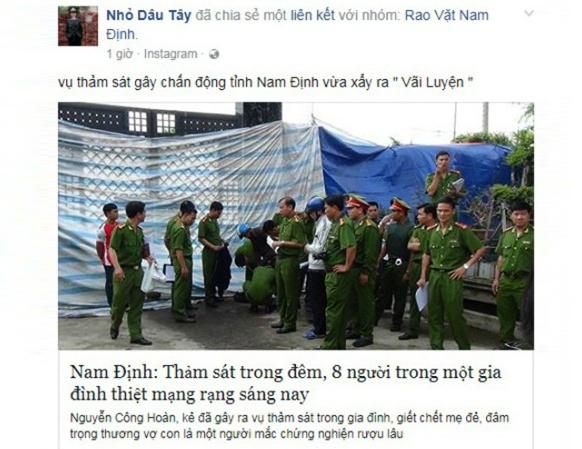 Lam ro nguoi tung tin don 'tham sat o Nam Dinh' hinh anh 1