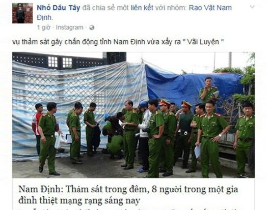 Lam ro nguoi tung tin don 'tham sat o Nam Dinh' hinh anh