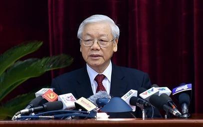 Phat bieu khai mac Hoi nghi Trung uong 6 khoa XII cua Tong bi thu hinh anh