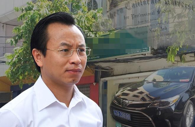 Ky luat cuu can bo bo tri xe doanh nghiep tang cho ong Nguyen Xuan Anh hinh anh