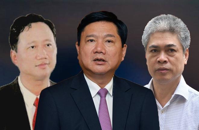 Ong Dinh La Thang va dong pham bi dua ra xet xu ngay 8/1/2018 hinh anh