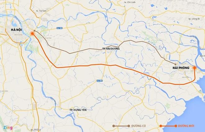 Nu tai xe lai oto nguoc chieu tren cao toc Ha Noi - Hai Phong hinh anh 2