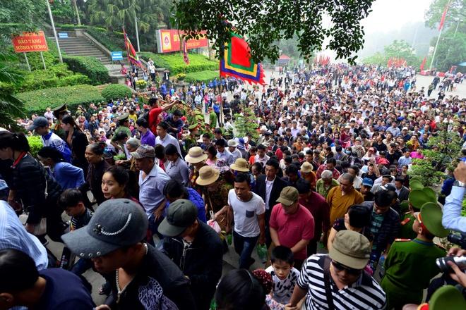 Phu Tho quyet dat '5 khong' o Le hoi Den Hung 2018 hinh anh 1