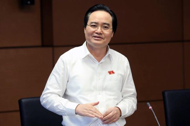 Bo truong Phung Xuan Nha giai thich viec doi hoc phi thanh gia dich vu hinh anh