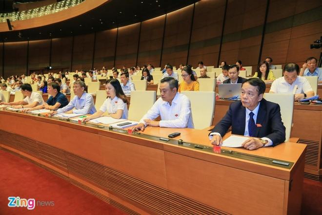 86,86% dai bieu Quoc hoi tan thanh thong qua Luat An ninh mang hinh anh 3