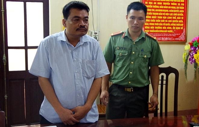 Cong an doc lenh bat nguoi thu 2 lien quan vu sua diem o Ha Giang hinh anh