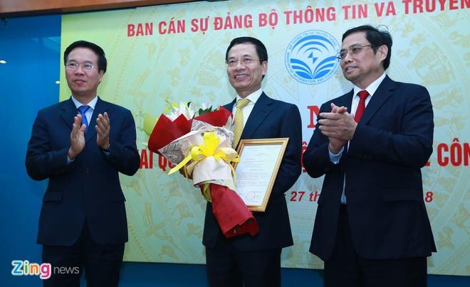 Ong Nguyen Manh Hung nhan nhiem vu anh 1