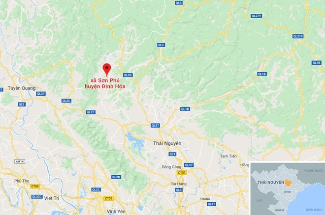 Tham sat o Thai Nguyen, ke ngao da chem chet 5 nguoi hinh anh 3 map_thaiguyen_thamsat.JPG
