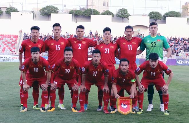 Hoa 4 tran, DTVN trong top hang thu manh nhat vong loai Asian Cup hinh anh 1