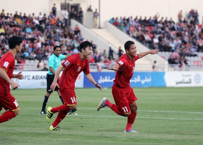 Hoa 4 tran, DTVN trong top hang thu manh nhat vong loai Asian Cup hinh anh 4