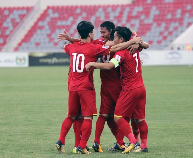Hoa 4 tran, DTVN trong top hang thu manh nhat vong loai Asian Cup hinh anh 5