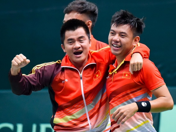 Ly Hoang Nam thang tie-break, Viet Nam tro lai nhom II Davis Cup hinh anh