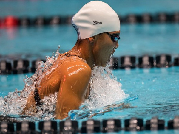 Anh Vien gianh HCV 400 m hon hop tai giai Pro Swim Series hinh anh