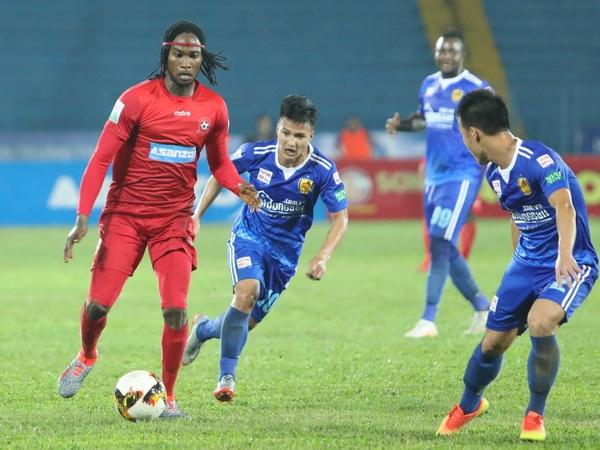 HLV Truong Viet Hoang bat luc, Hai Phong thua tran thu 3 sau 5 vong hinh anh
