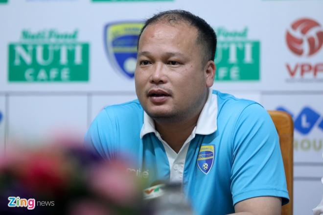 Thanh Hoa thua nhan khong con tham vong vo dich V.League 2018 hinh anh 1
