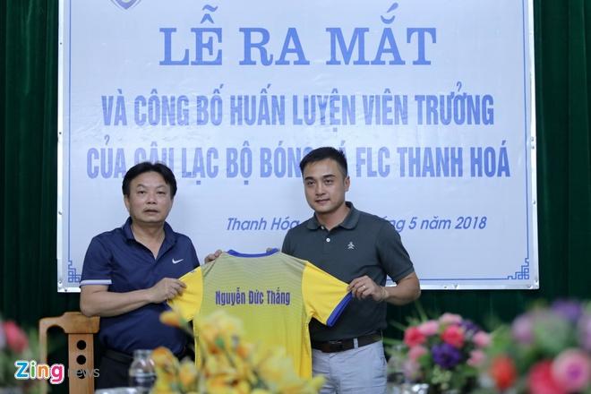 Cau thu Thanh Hoa hua doan ket duoi thoi HLV Duc T anh 1