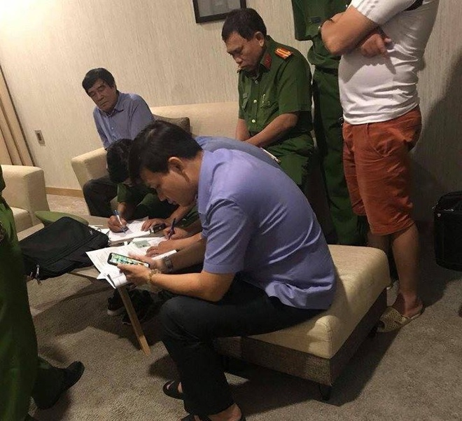 VFF yeu cau PCT Nguyen Xuan Gu giai trinh nghi an o khach san hinh anh 1
