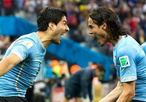Suarez - Cavani: Cap song sat den tu noi tham son cung coc Salto hinh anh