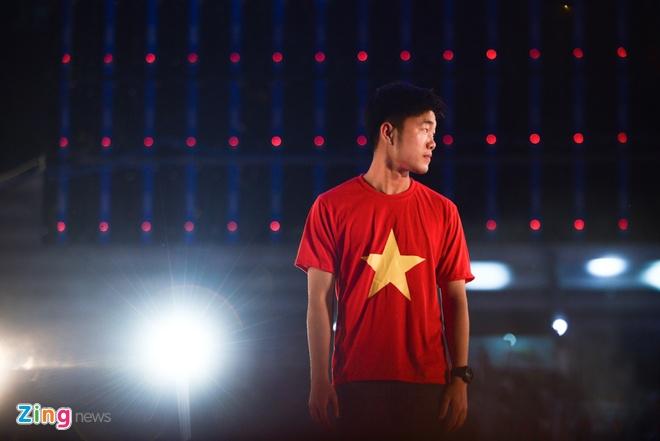 Xuan Truong Khang Dinh U23 Viet Nam Khong Ngu Quen Tren Chien Thang Hinh  Anh 1