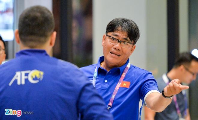 Olympic Viet Nam huy tap vi khong co giay phep vao khu quan su hinh anh 2