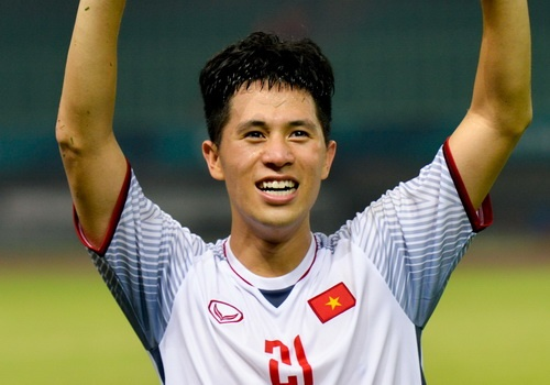Dinh Trong - nguoi can ve tham lang cua U23 Viet Nam hinh anh