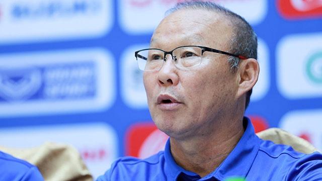 HLV Park: 'Muc tieu cua DT Viet Nam la dan dau bang A tai AFF Cup' hinh anh