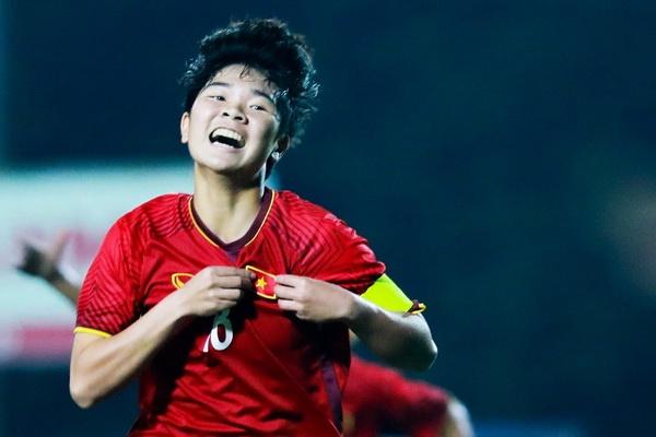 U19 nu Viet Nam danh bai Jordan 4-0 tai giai chau A hinh anh