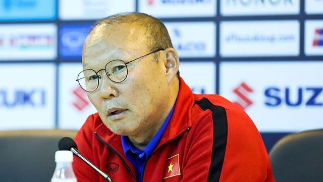 HLV Park Hang-seo giai thich ly do khong bat tay o tran Myanmar hinh anh