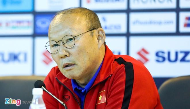 HLV Park Hang-seo giai thich ly do khong bat tay o tran Myanmar hinh anh 1